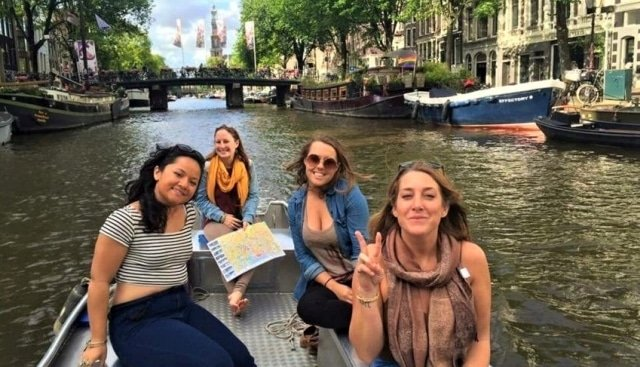 Rent a boat in Amsterdam at Boats4rent Westerpark Boat Hire