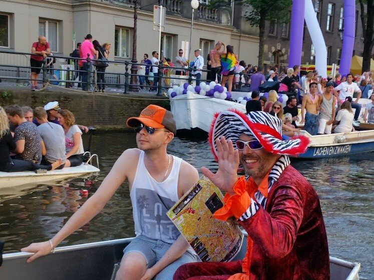 Rent Boat Amsterdam Gay Pride