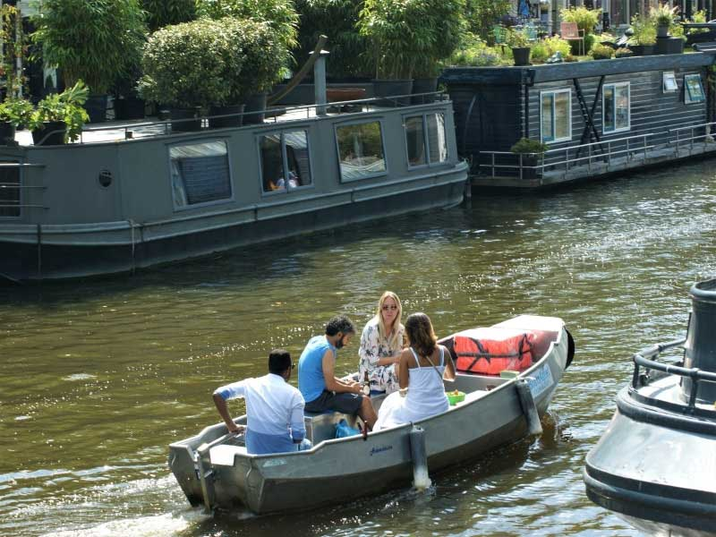 Sloep huren in Amsterdam Boats4rent