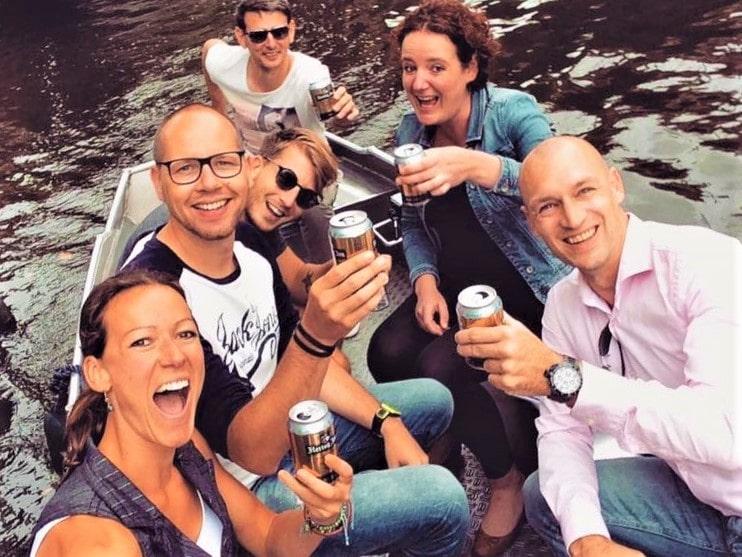 Amsterdam günstig Boot mieten Boats4rent Bootsverleih