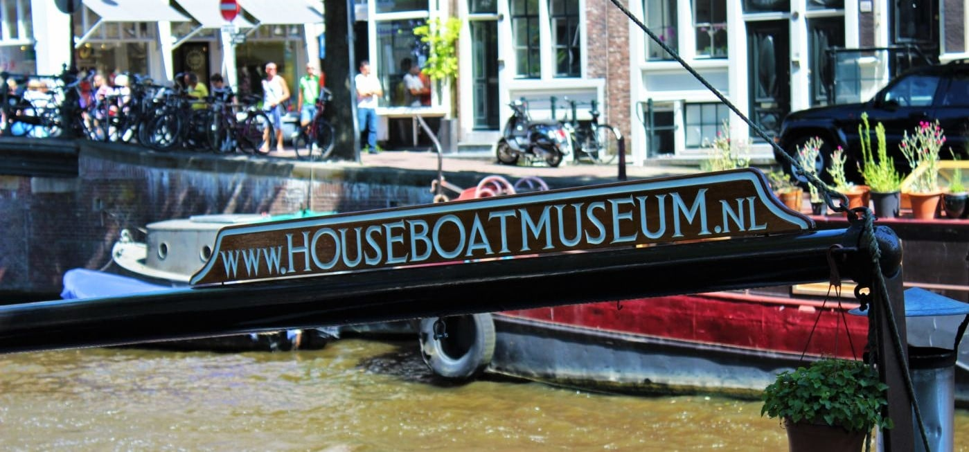 Houseboat Museum Amsterdam Prinsengracht Canal