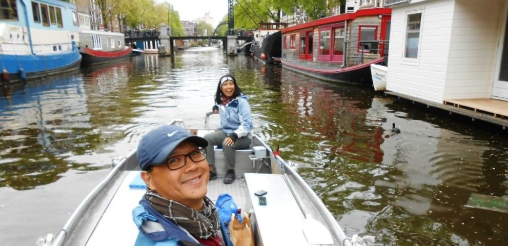 Elektroboot mieten in Amsterdam bei Boats4rent
