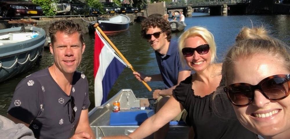 Zelf varen in Amsterdam bij Boats4rent