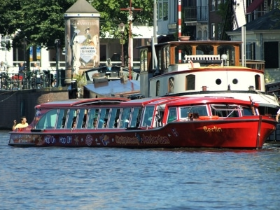 Hop on Hop Off Grachtenfahrt in Amsterdam