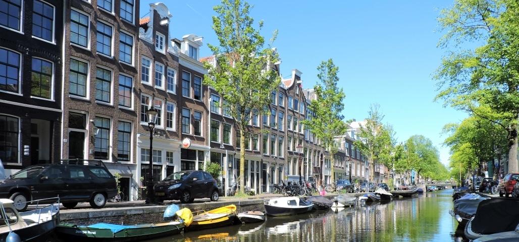 De Bloemgracht is de mooiste gracht van de Jordaan in Amsterdam
