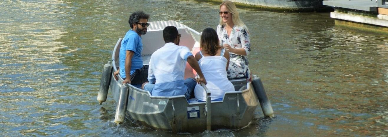 Bootverhuur Amsterdam bij Boats4rent aan Westerpark