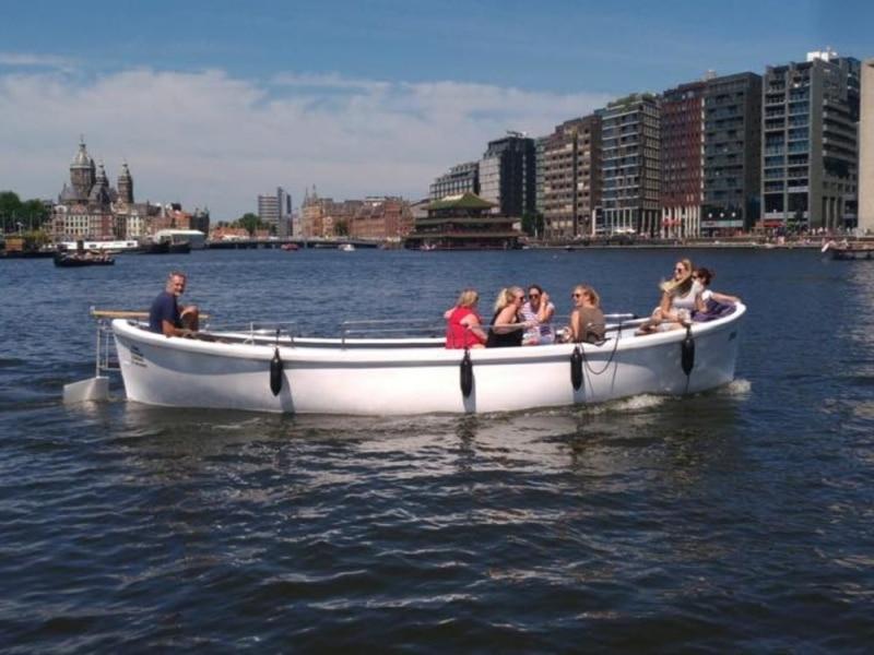 Sloep Simon huren in Amsterdam