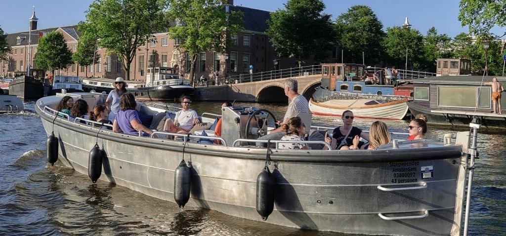 Sloep huren Amsterdam met schipper