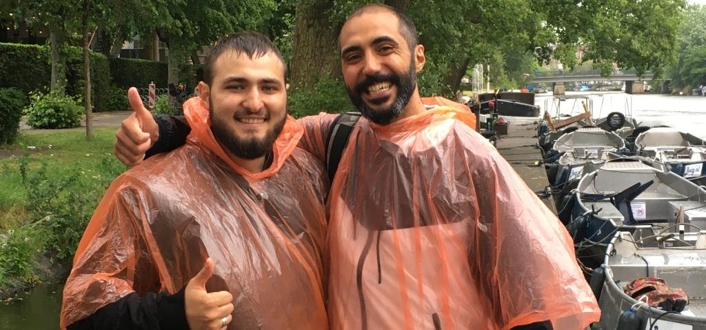 Vaartocht Amsterdam annuleren regen