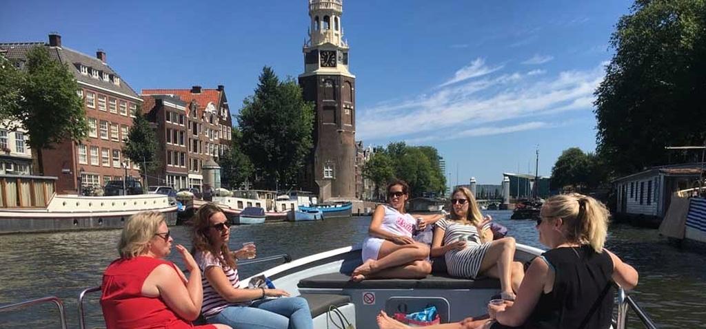 Varen in Amsterdam vaartocht grachtengordel