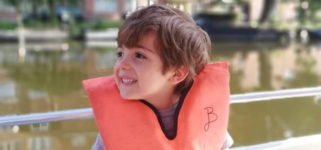 Zwemvest kind sloep Amsterdam
