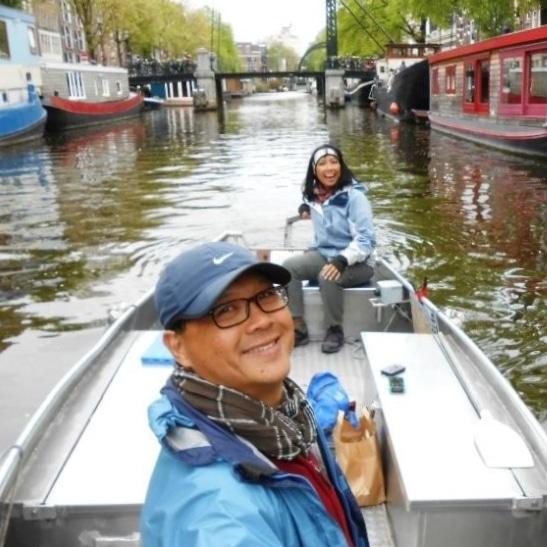 Amsterdam selber Bootfahren