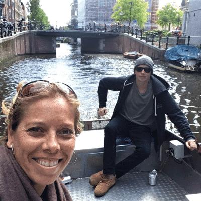 Boot fahren Amsterdam