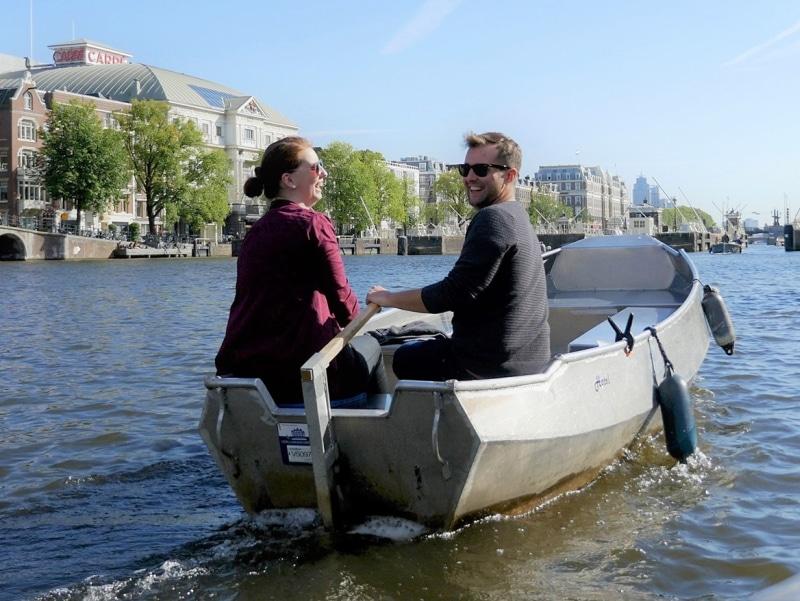 Boot mieten Amsterdam 2 personen