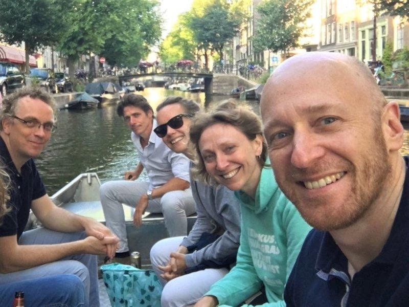 Bootje huren in Amsterdam