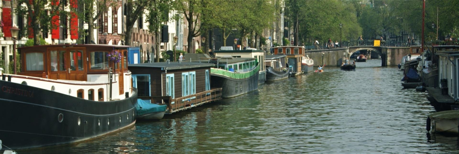 Woonboot Amsterdam huren