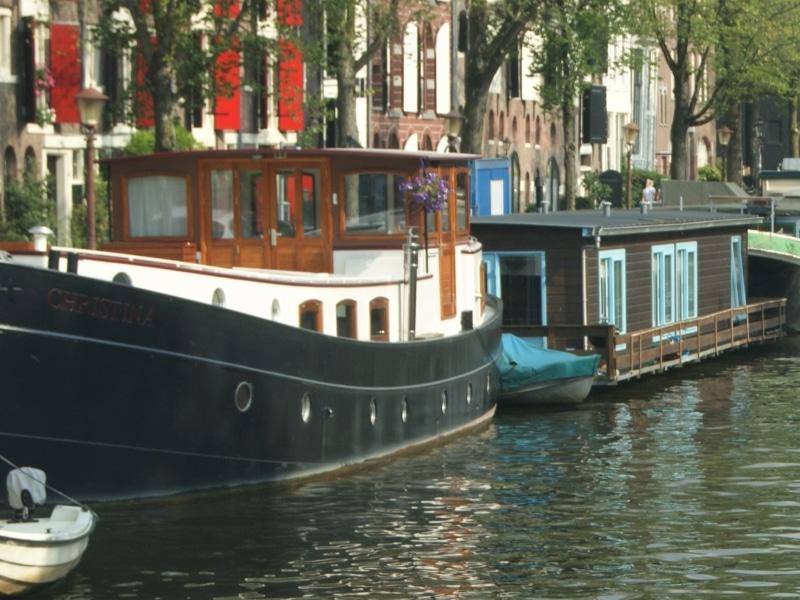 Woonboot huren Amsterdam
