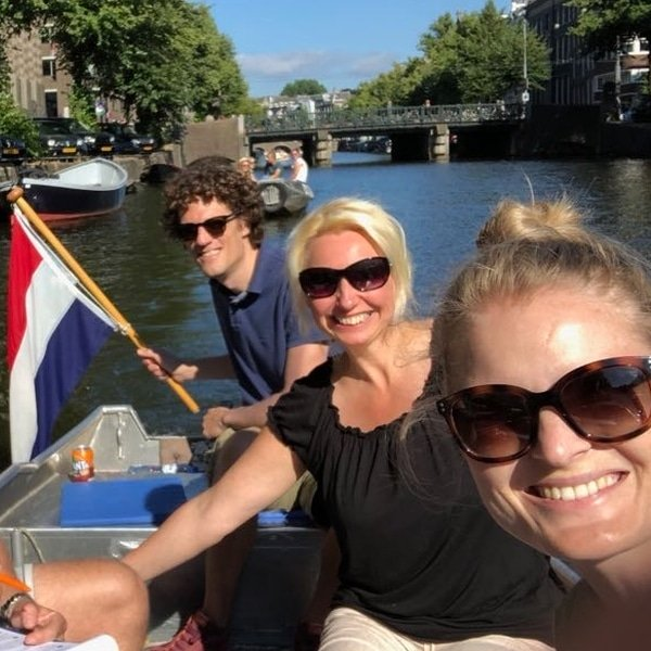 Amsterdam canals boat hire