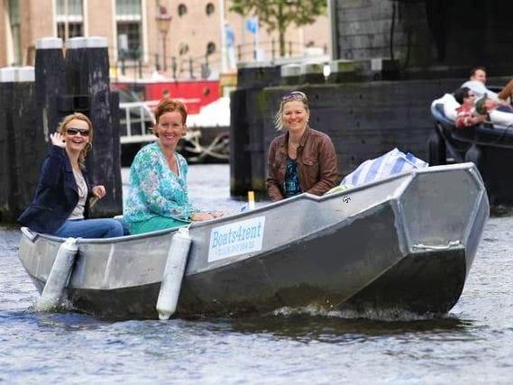 Boat hire in Amsterdam